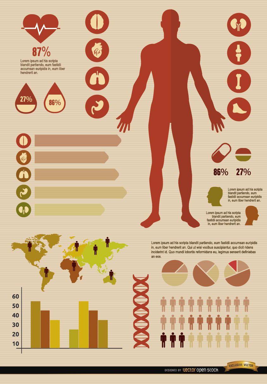 Recursos de infografías médicas