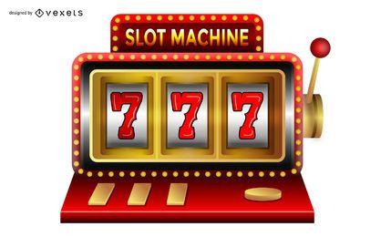 Fondo de casino con objetos de juego