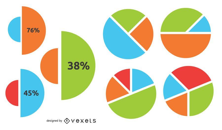 Creative Circular Chart Business Infographic
