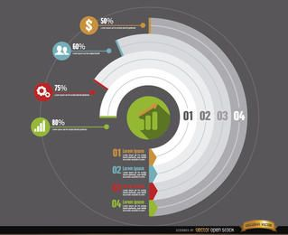 Circle infographics business development