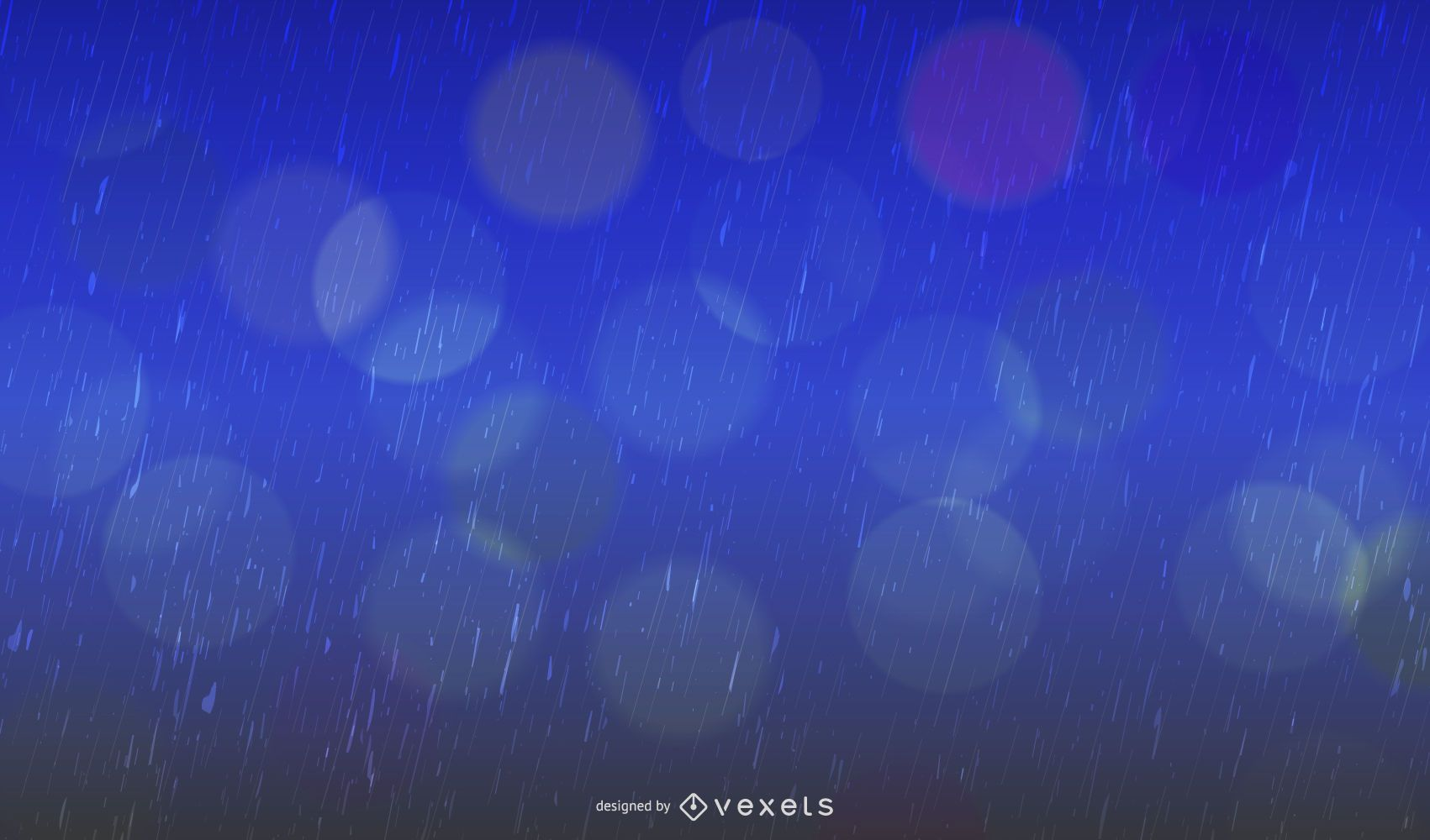 Realistic Raindrop Textured Blue Background Vector Download
