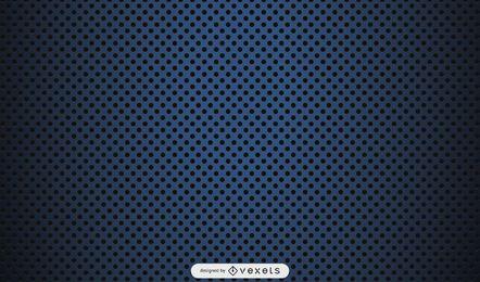 Mikro punktiertes Muster auf schwarzem Hintergrund