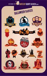 17 crachás criativos do Dia das Bruxas