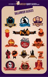 17 Insignias de Halloween cretive