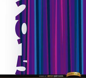 Fondo de barras azul púrpura vertical 2015