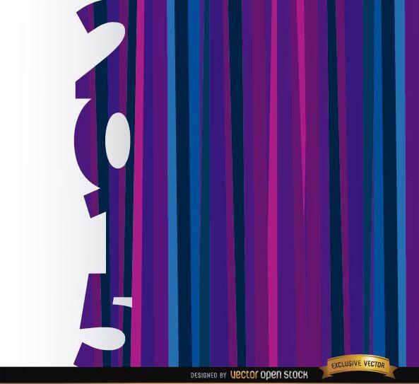 2015 vertical purple blue bars background