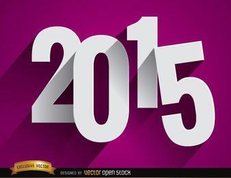 Fondo de número de gota de 2015