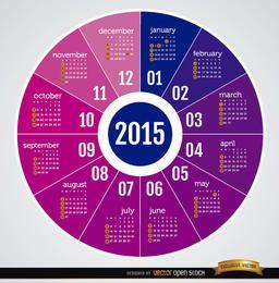 Runder Kalender 2015