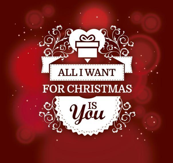 Fundo de presente de Natal romântico