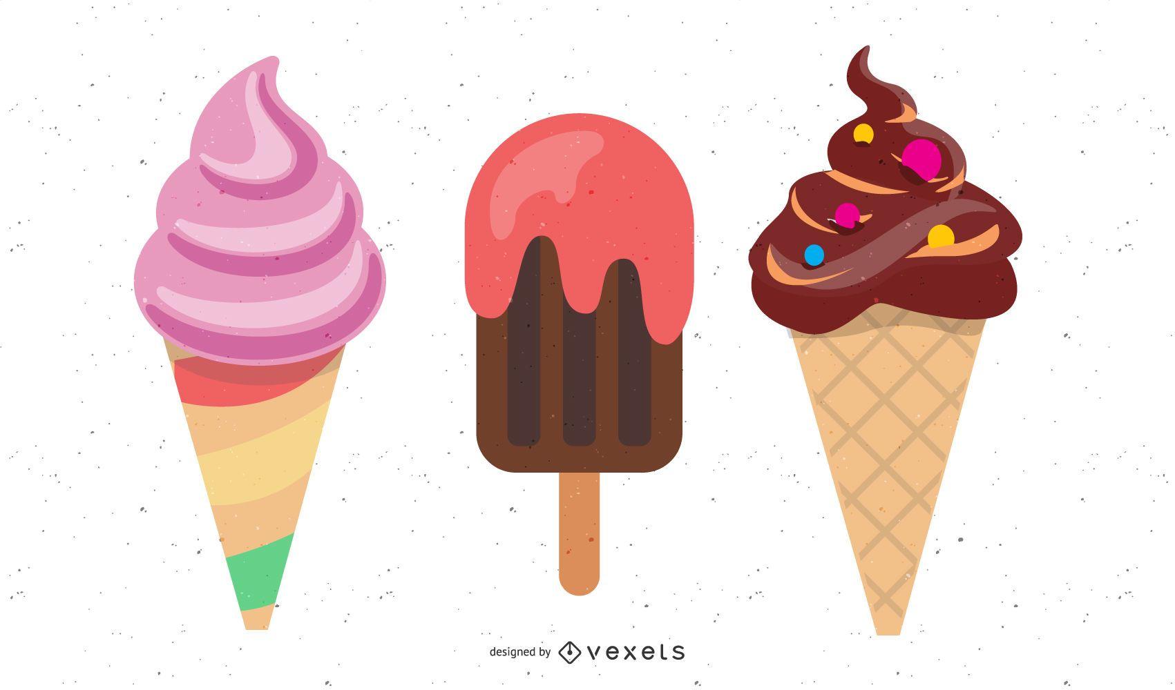 Eis ist gut für Ihre Gesundheit!