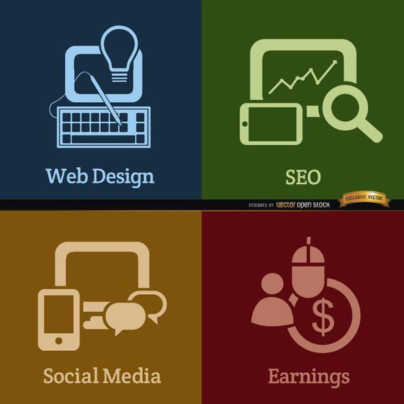 Web development process backgrounds