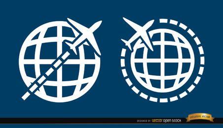2 Viaja alrededor de símbolos mundiales