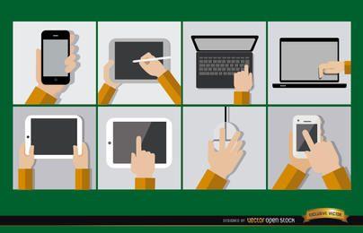 8 dispositivos de computador móvel