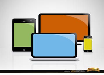 Computer mobile screens