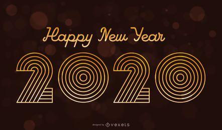 2020 Vintage Typografie