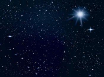 Raum sterne Hintergrund