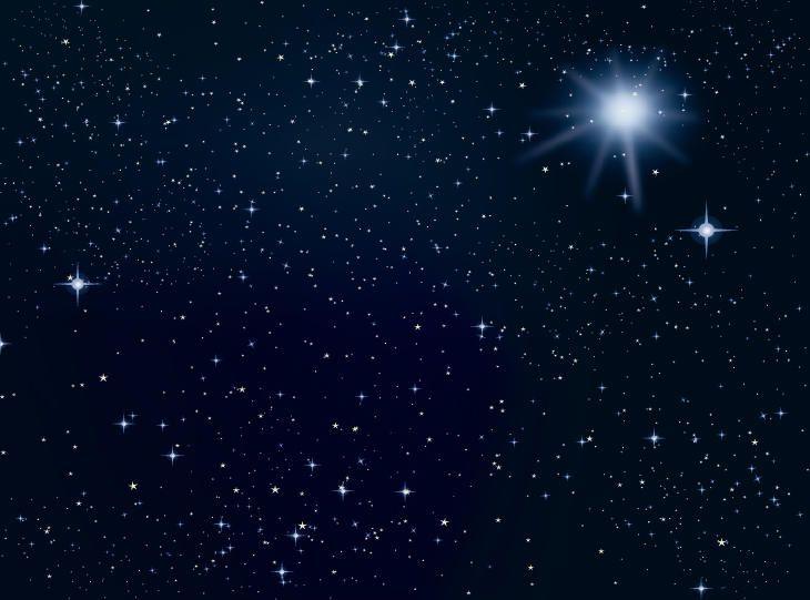 Espaço estrelas fundo