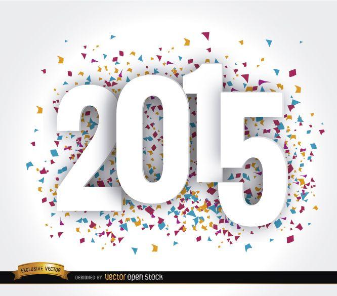 Feliz año 2015 fondo de pantalla