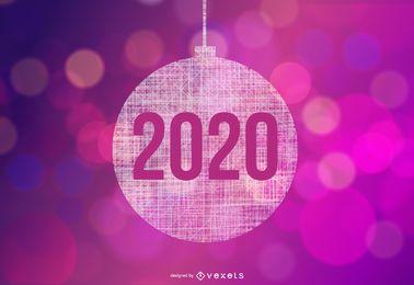 Bola de Natal de 2020