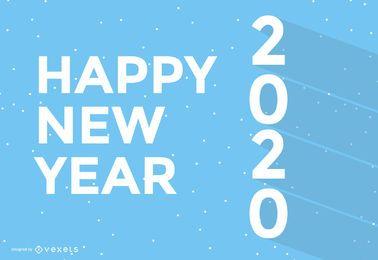 Fondo de pantalla simple de año nuevo