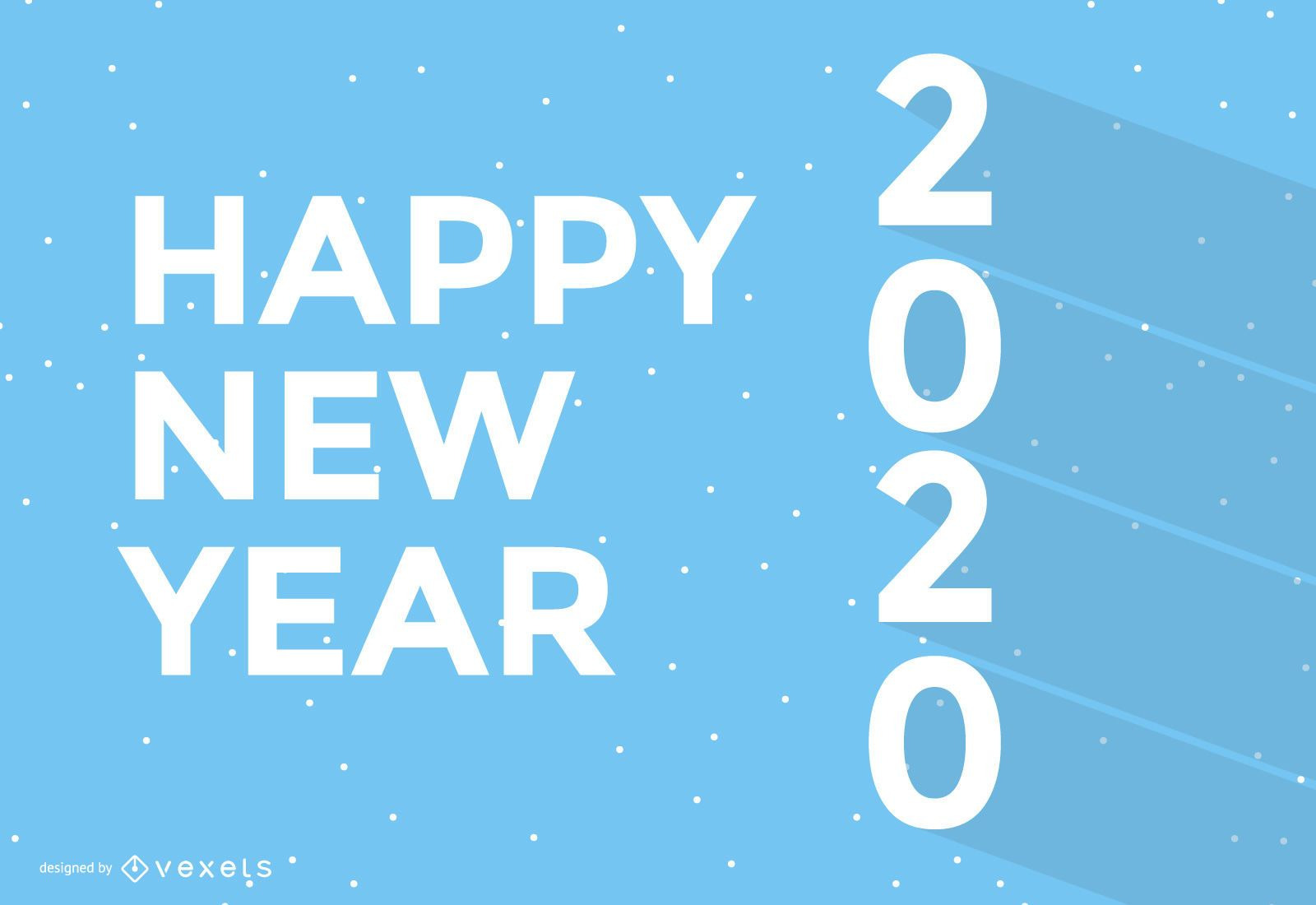 Simple New Year Wallpaper