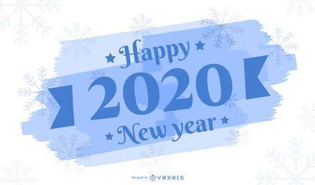 Saludo de año nuevo 2020