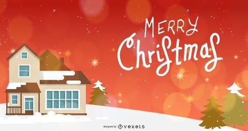 4 hermosas plantillas de banner de Navidad