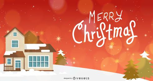 Beautiful Christmas Banner Template