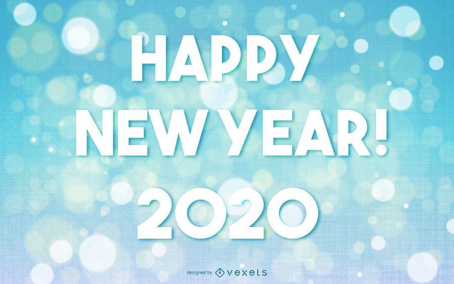 Gruß des neuen Jahres 2015 auf Bokeh-Hintergrund