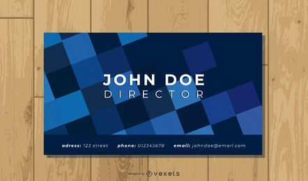 Colorful Polygonal Design Business Card Template