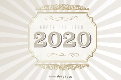 2015 Typography Vintage Background