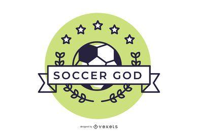 Fútbol Deportes Hermoso Logo Design