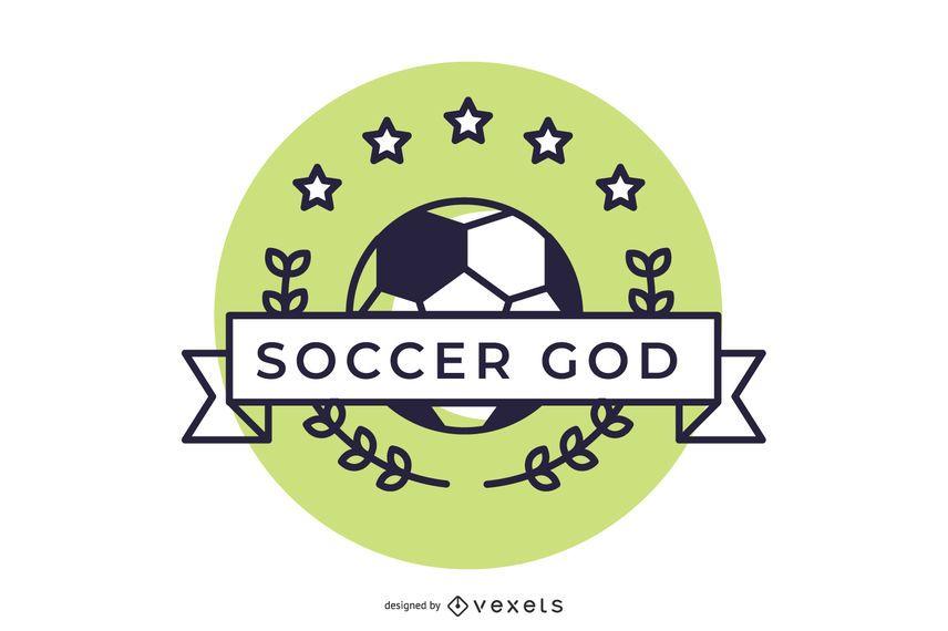 Soccer Sports Beautiful Logo Design