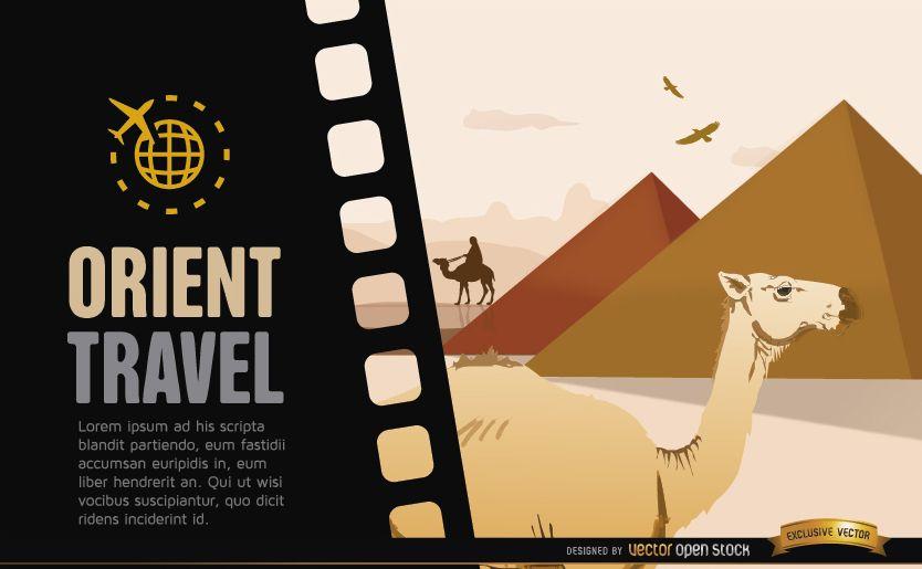 Travel to Egypt background