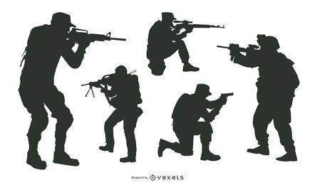 Shooter & Sniper Sport Pack Silhouette
