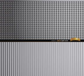 Abstraktes Metall masert Hintergrund
