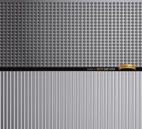 Fondo de texturas de metal abstracto