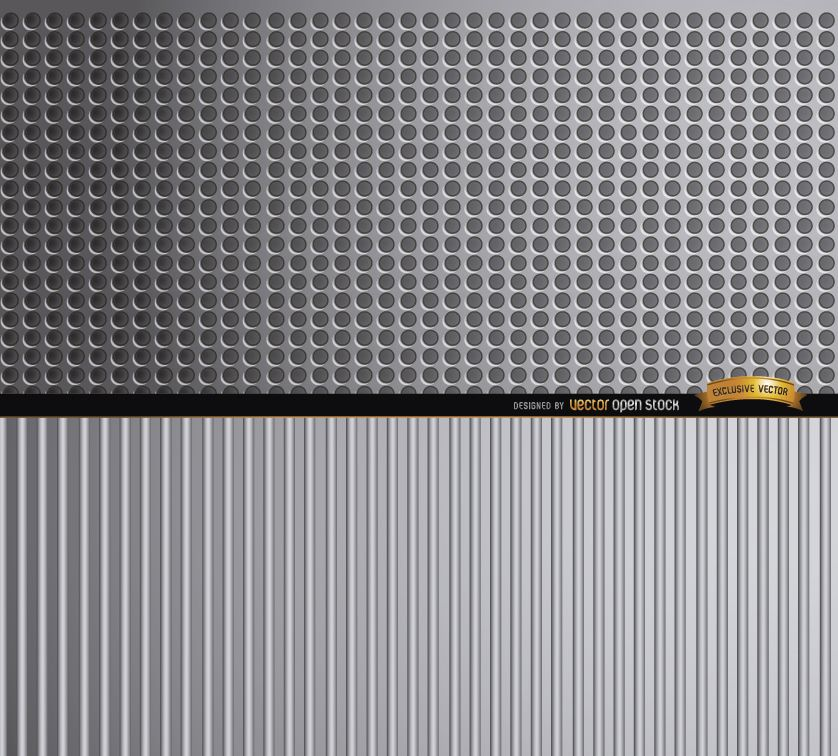Abstract metal textures background