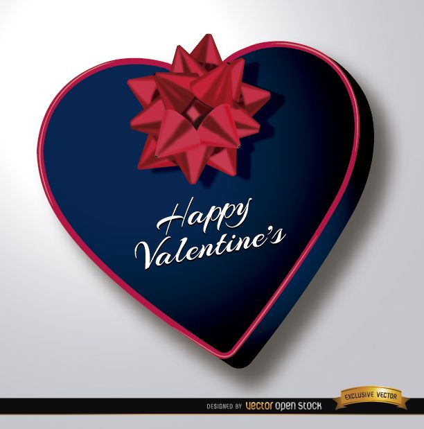 Valentine?s Day heart shaped gift