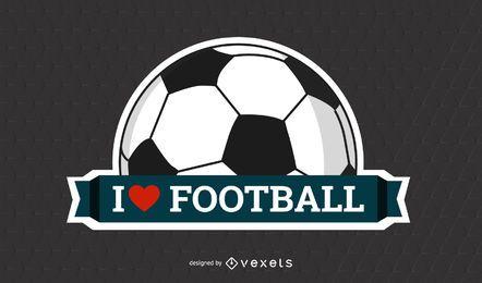 Beschriftet herauf Fußball-Plakat auf Gitterbeschaffenheit