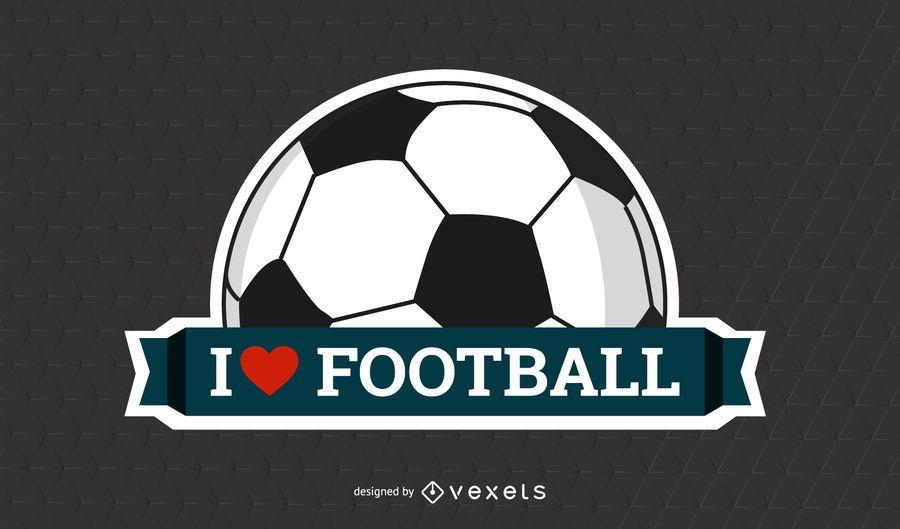 Cartaz de futebol rotulado acima na textura de grade