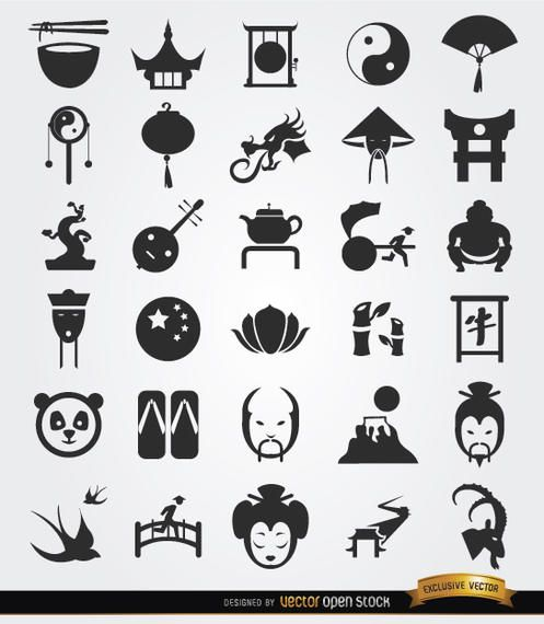 30 Chinese culture icons