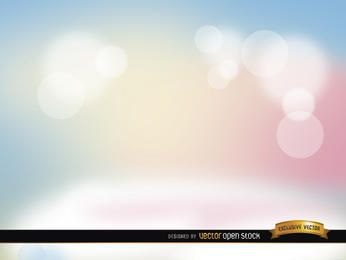 Pastel spotlights background