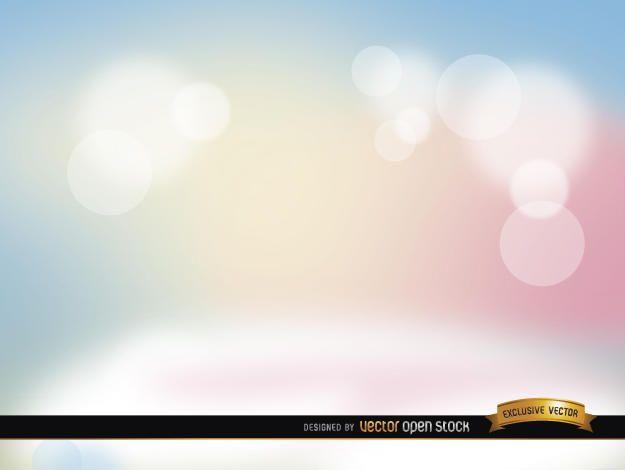 Pastel spotlights background