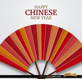Feliz año nuevo chino de fondo