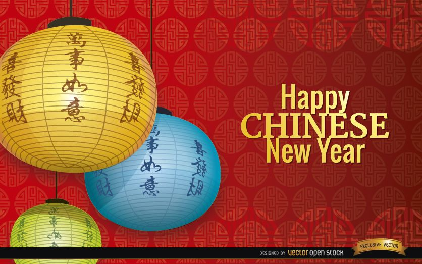 Chinese New Year decoration ornaments