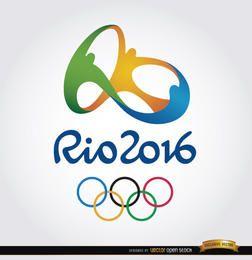 Rio 2016 Olympics fundo oficial