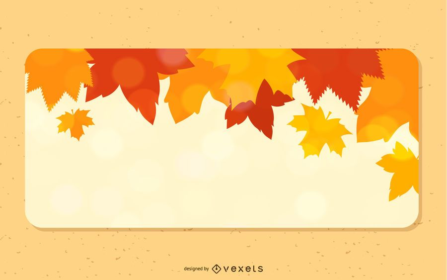 Fallen Autumn Leaves 3 Banners