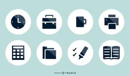 15 conjunto de ícones do vetor