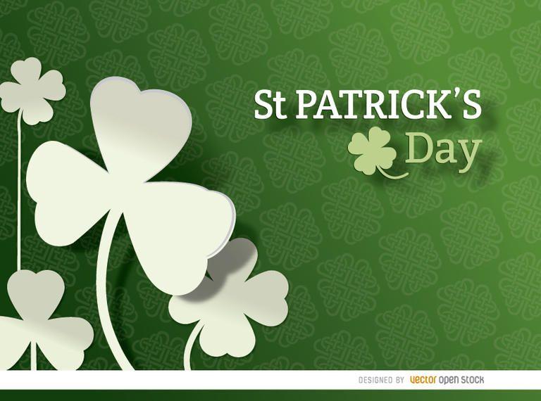 St. Patrick?s Shamrock pattern background